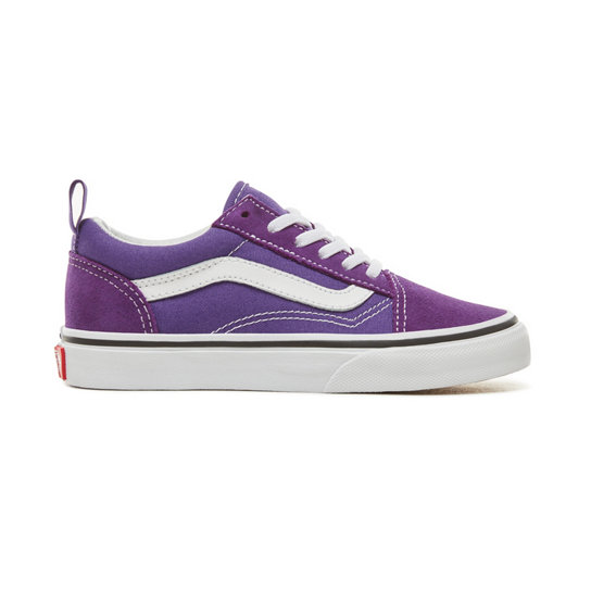 Kids Old Skool Elastic Lace Shoes (4-12 years) | Vans