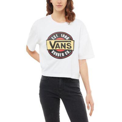 Vans Hauts & T shirts Femme T shirt Chromo Noir < La