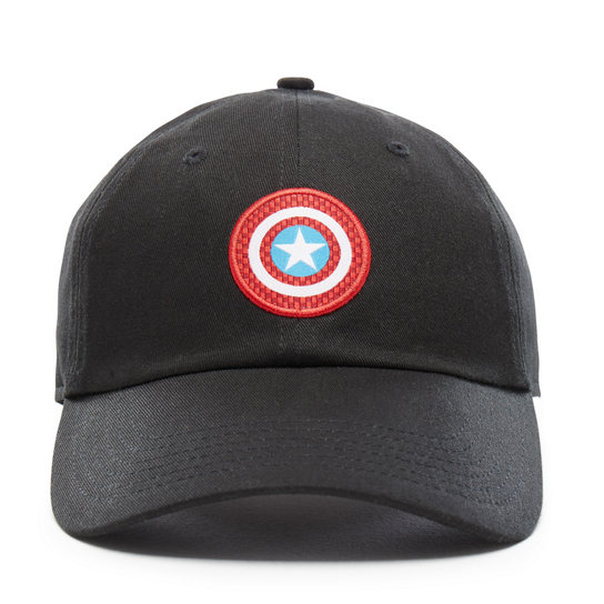 Vans X Marvel Captain Shield Courtside Hat | Vans