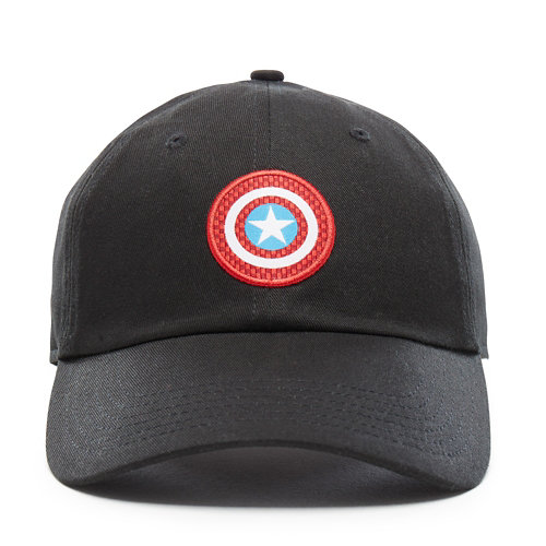 Casquette+Vans+X+Marvel+Captain+Shield+Courtside