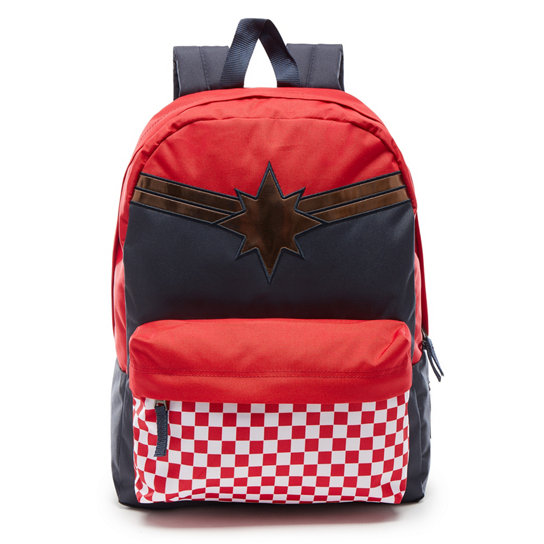Vans X Marvel Captain Marvel Realm Backpack | Vans