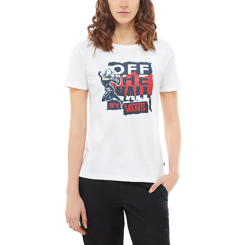 Vans+X+Marvel+Captain+Marvel+Basic+Crew-T-shirt