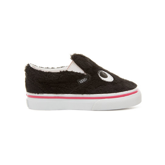 Scarpe Bambino Party Fur Slip-On Friend (0-3 anni) | Vans