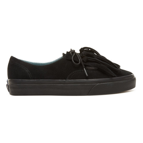 Suede  Authentic Fringe Shoes | Vans
