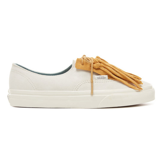 Suede Authentic Fringe Shoes