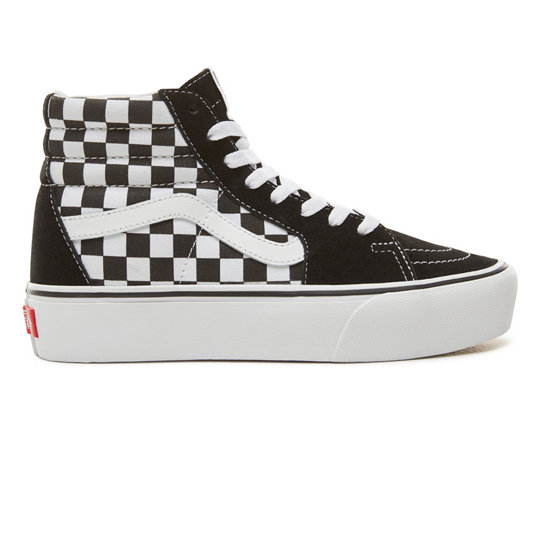 Suede Checkerboard Sk8-Hi Platform 2.0 Shoes  2594cc9ec