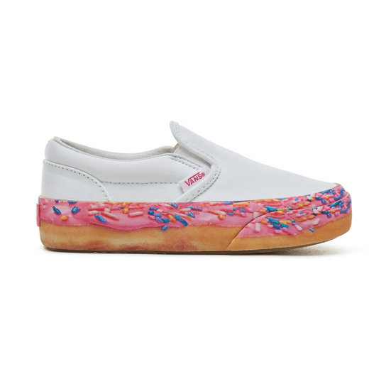 Kids Donut Classic Slip-On Platform Shoes (4-8 years) | Vans
