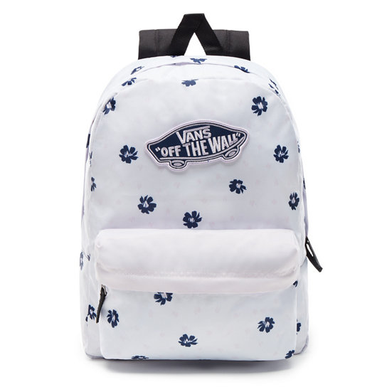 c8b959e28e8 Realm Backpack | White | Vans