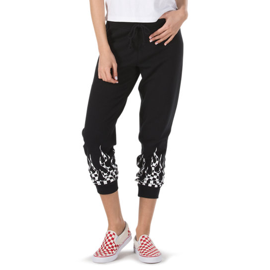 Pantalon de jogging Checker Flame | Vans
