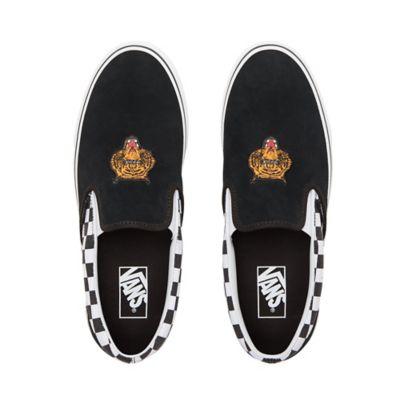 da89b4a4150 Tiger Check Classic Slip-On Shoes