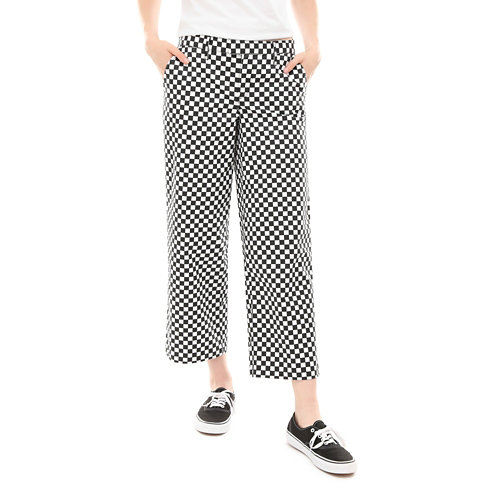 Pantalon+Checkerboard+Authentic+Wide+Leg