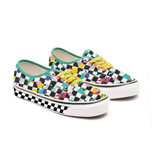 Customs+Kids+Geometric+Checkerboard+Authentic
