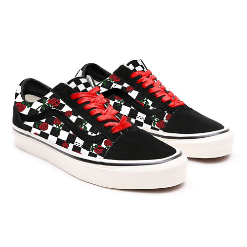 Roses+Checkerboard+Old+Skool+personalizzate