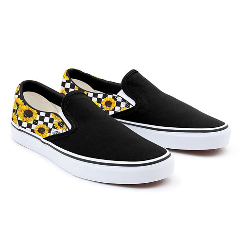 Personalisierbare+Sunflower+Slip-On