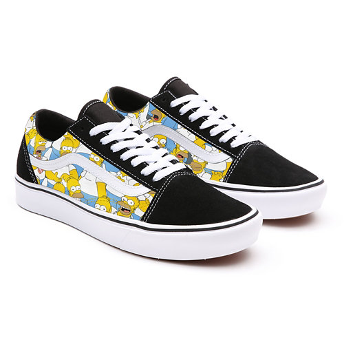 The+Simpsons+x+Vans+Old+Skool+Personnalis%C3%A9es