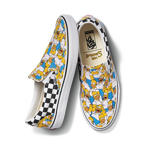 Customs+The+Simpsons+x+Vans+Slip-On