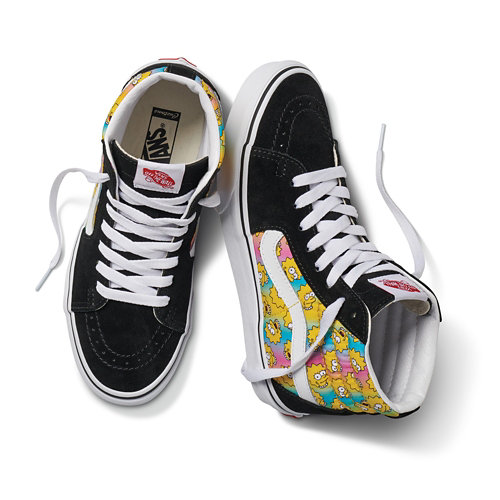 Personalisierbare+The+Simpsons+x+Vans+Sk8-Hi