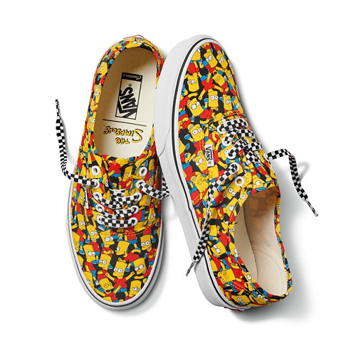 Gepersonaliseerde+The+Simpsons+x+Vans+Authentic