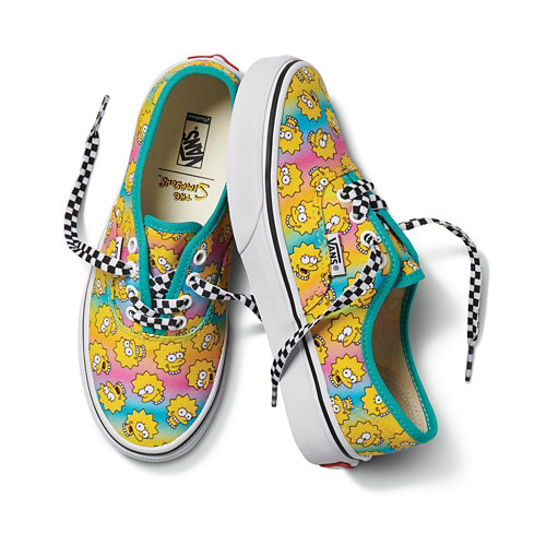 The+Simpsons+x+Vans+Kids+Authentic+Personnalis%C3%A9es