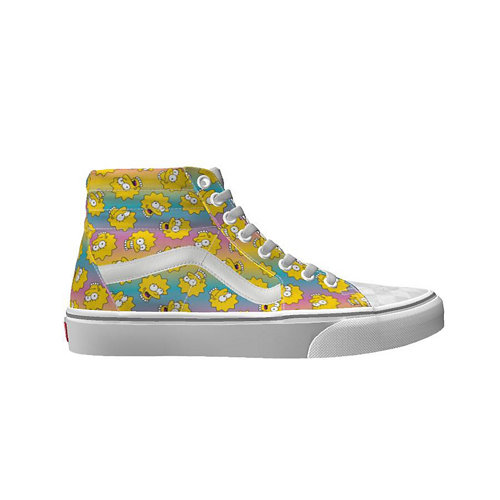 The+Simpsons+x+Vans+Sk8-Hi+Personnalis%C3%A9es