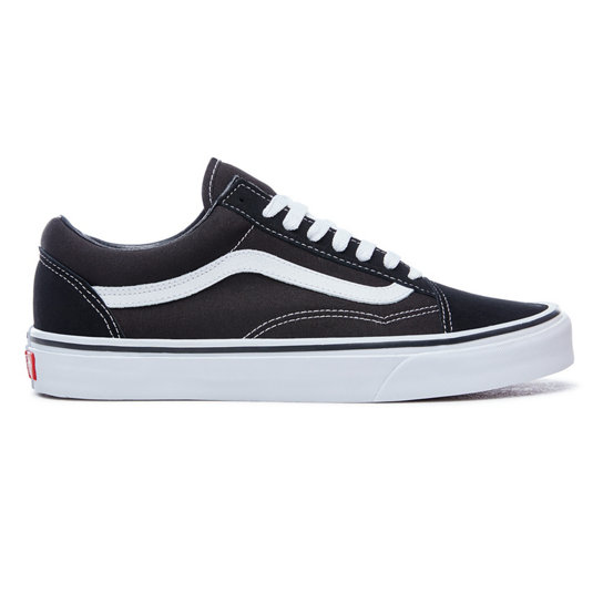 vans damen old skool schwarz