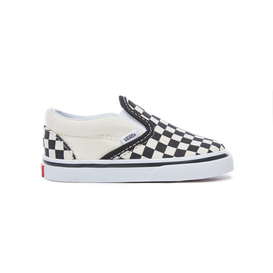 Checkerboard Slip-On Peuterschoenen | Vans