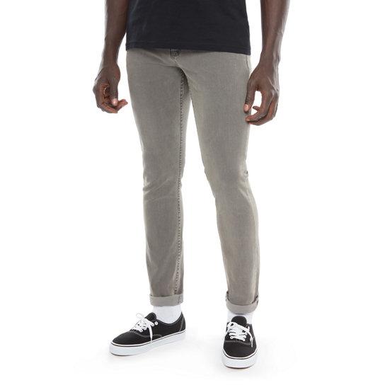 V76 Worn Grey Skinny Jeans