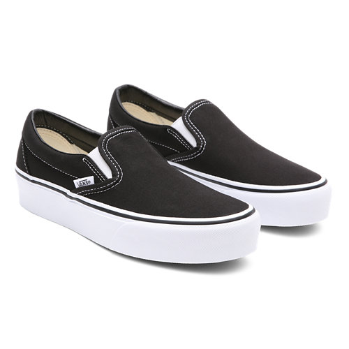 Classic+Slip-On+Platform+Shoes
