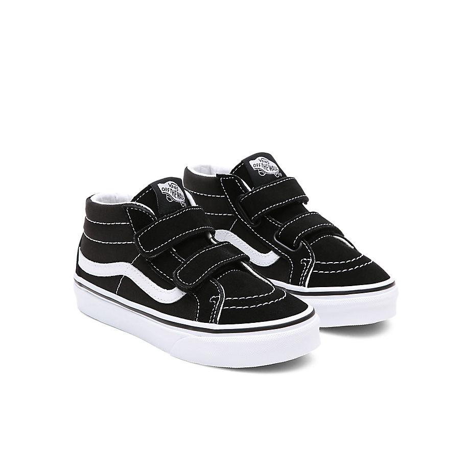 Chaussures Junior Sk8-mid Reissue V (4-8 Ans) (black-true White) Enfant , Taille 31.5 - Vans - Modalova