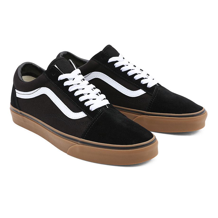 Chaussures Gumsole Old Skool ((gumsole) Black/medium Gum) , Taille 34.5 - Vans - Modalova