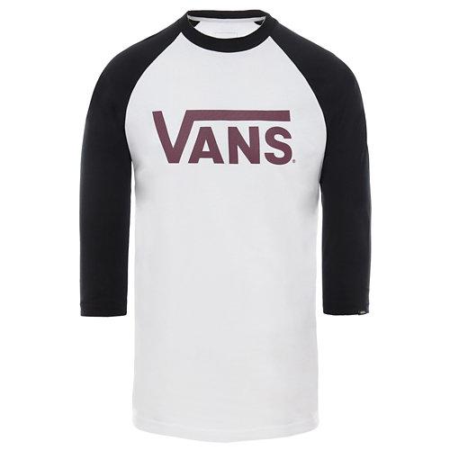 Camiseta+de+manga+ragl%C3%A1n+Vans+Classic 93fec8820de