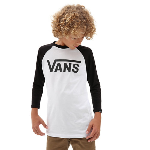Kids+Vans+Classic+Raglan+T-Shirt+%288-14%2B+years%29