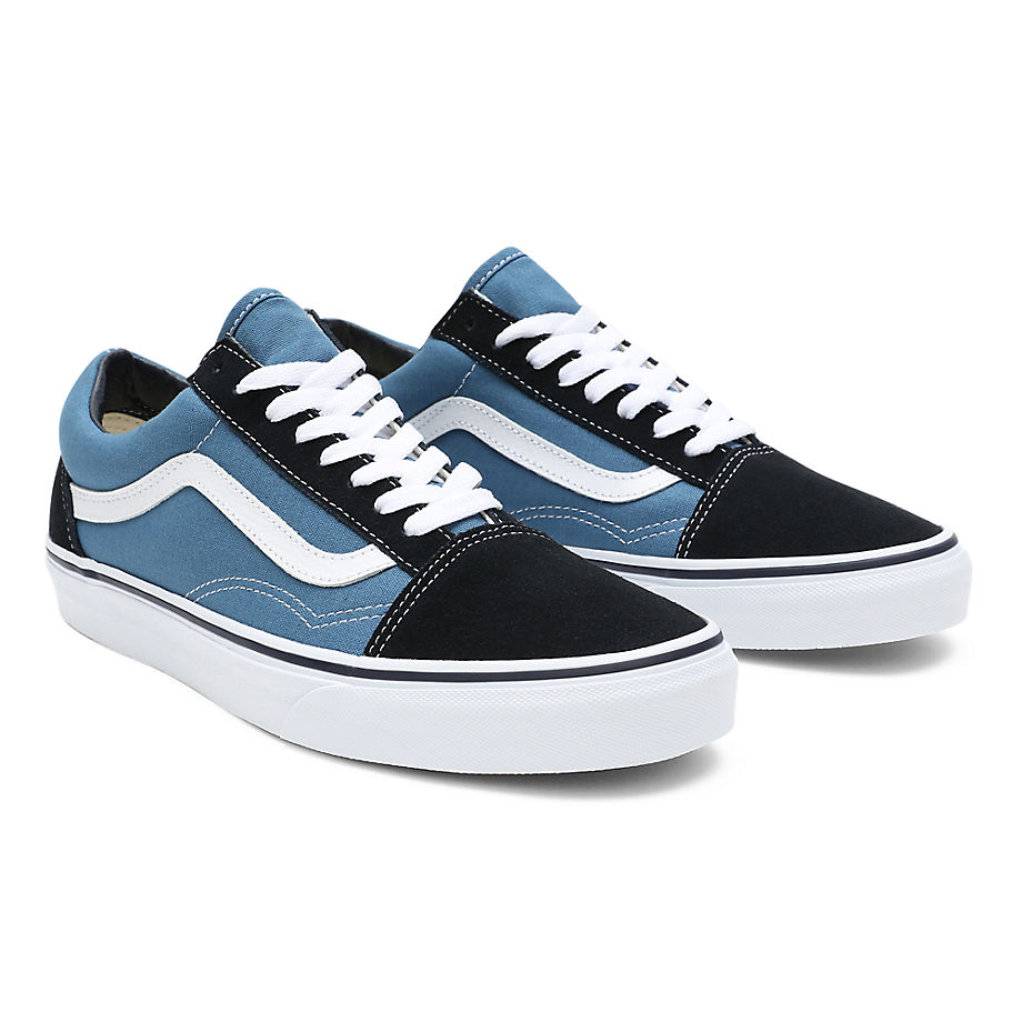 Vans  OLD SKOOL  women's Shoes (Trainers) in Blue - VN000D3HNVY1=VD3HNVY