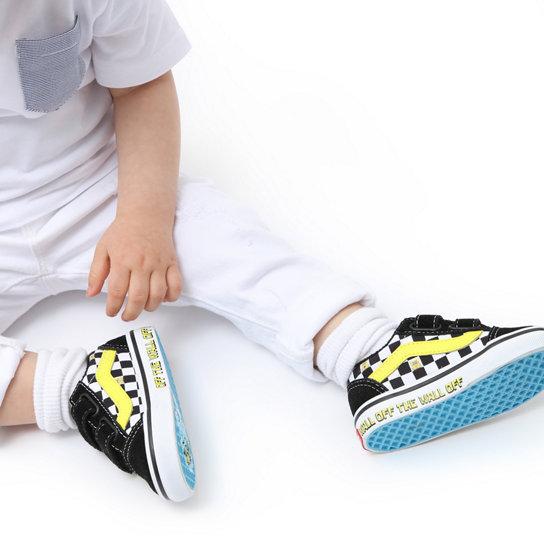 Chaussures Vans X SpongeBob Old Skool Velcro Bébé (1-4 ans)