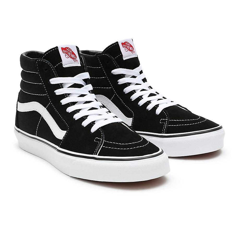 Vans Sk8-Hi Trainers In Black Black