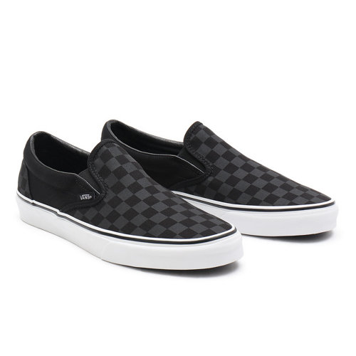 Checkerboard+Classic+Slip-On+Schoenen