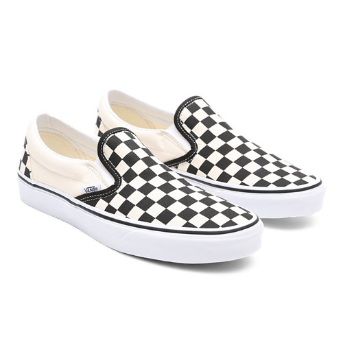 Scarpe+Classic+Slip-On+Checkerboard