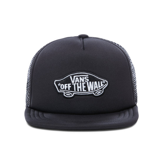 f76cf94f Kids Classic Patch Trucker Hat | Black | Vans