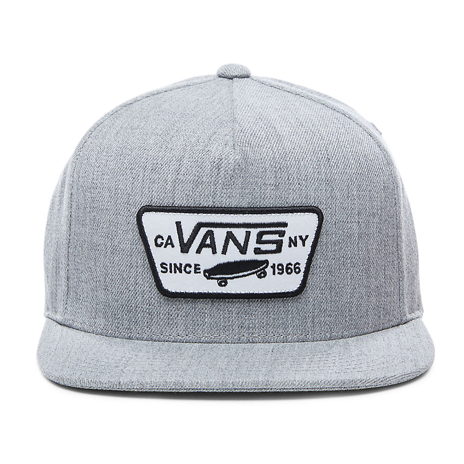 Casquette Full Patch Snapback (heather Grey) , Taille TU - Vans - Modalova