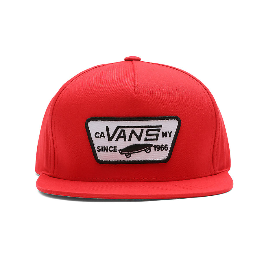 Casquette Snapback Full Patch Enfant (high Risk Red) Youth , Taille TU - Vans - Modalova