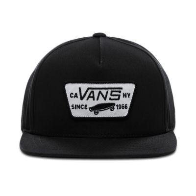 561ff0df Kids Full Patch Snapback Hat | Black | Vans
