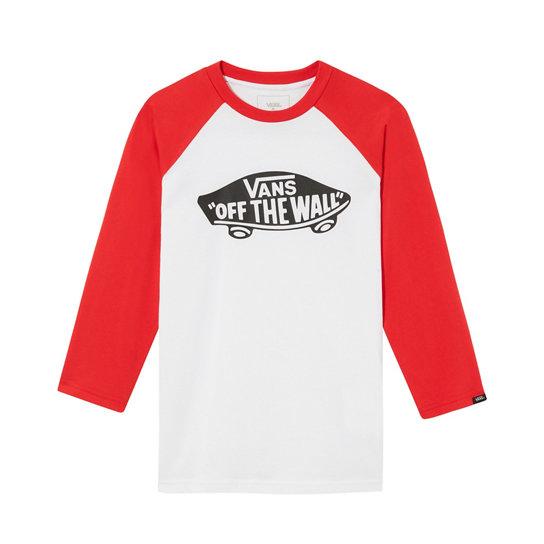 T shirt OTW da bambino con maniche raglan (8 14+ anni)