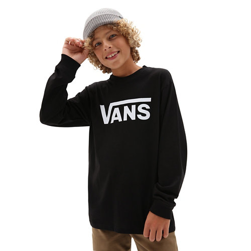 Kids+Vans+Classic+Long+Sleeve+T-Shirt+%288-14%2B+years%29