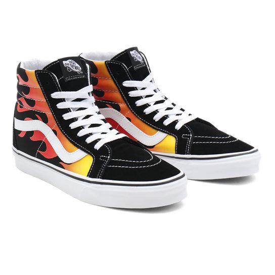 Chaussures Flame Sk8-Hi Reissue | Noir | Vans