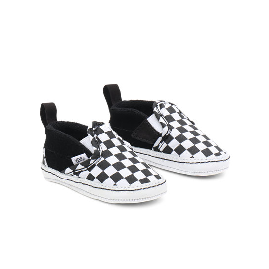 Infant Checker Slip-On V Crib Shoes (0-1 year) | Vans