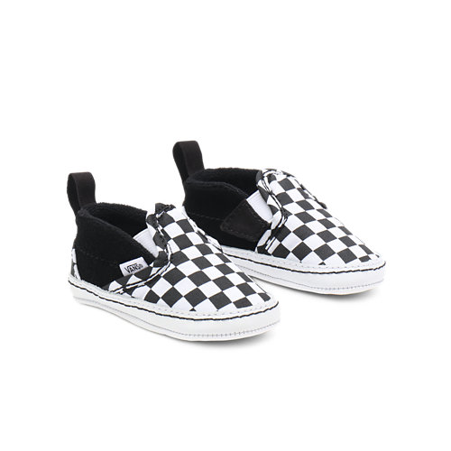 Infant+Checker+Slip-On+V+Crib+Shoes
