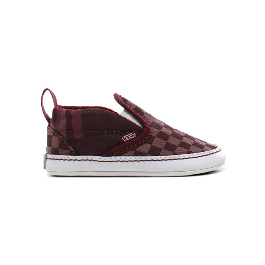 Infant Tonal Checkerboard Slip-On V Crib Shoes (0-1 year) | Vans