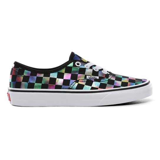 Iridescent Check Authentic Schuhe