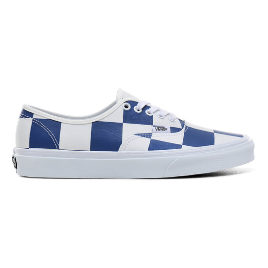 Leather Check Authentic Shoes | Vans