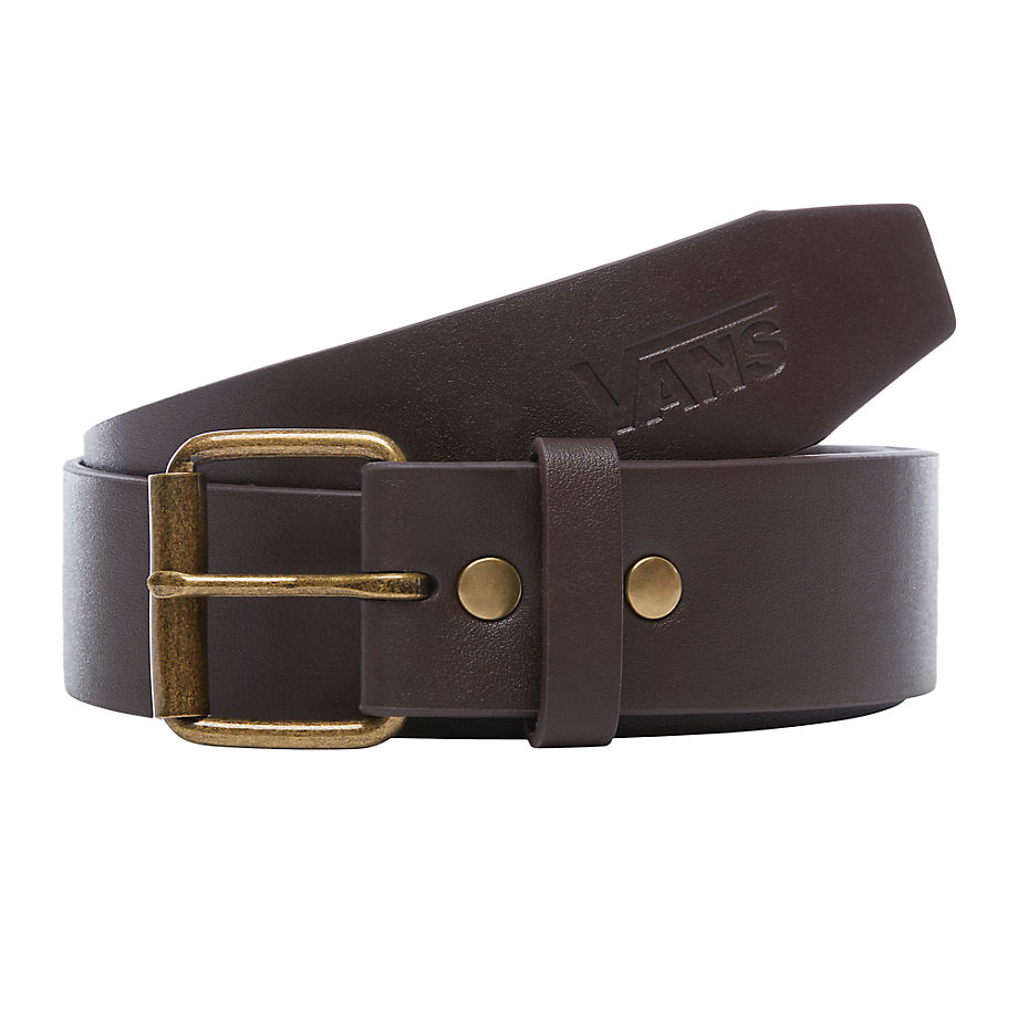 Nouveau VANS Ceinture Hunter (dark Brown) Homme Marron 4e8986dffa6